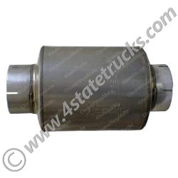 Glavanized MUffler - 9in x 12in