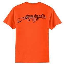 Chrome Shop Mafia Orange Short Sleeve T-Shirt