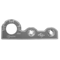 Rockwood Stainless Steel Switch Plate -Ignition, Dimmer & Wiper