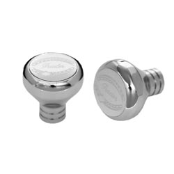 Rockwood Chrome Tractor/Trailer Knob Set