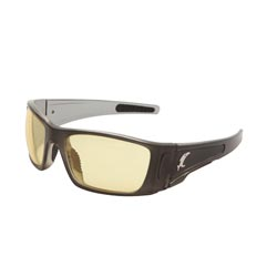 Vengeance Premium Sunglasses Smoke Grey/Yellow Lenses