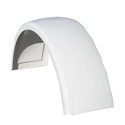 Factory Style Fiberglass Front Fender With Liner Fits Peterbilt 379 - Driver Or Passenger Side