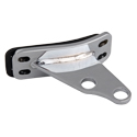 Stainless Steel Angled Exhaust Bracket Fits Peterbilt