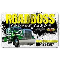 ROADBOSS Chrome Card