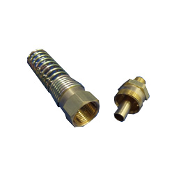 1/4 MP X 3/8 Air Brake Fitting For Rubber Hose