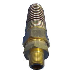 3/8 MP X 1/2 Air Brake Fitting For Rubber Hose
