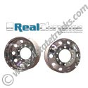 Chromed Aluminum Wheel 22.5in Hub Pilot - Steer or Drive