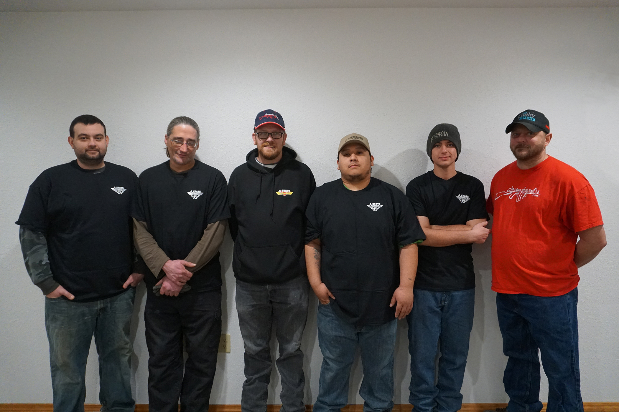 Parts Receiving Team