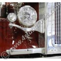 Chrome Criminal Headlight Brackets Fits Peterbilt 379