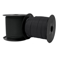 12 Gauge Black Electrical Wire - Sold Per Foot