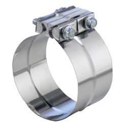 5 Inch Stainless Steel Pre-Formed Band Clamp