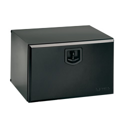 Bawer 24 X 18 X 18 Inch Black Steel Tool Box With Single Door