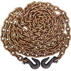 5/16 Inch X 20 Foot Grade 70 Chain With Hooks