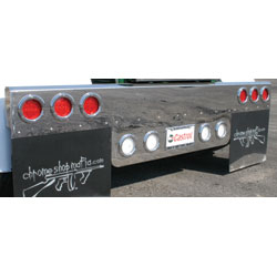 Semi truck rear bumpers light bars 4 state trucks semi truck rear bumpers light bars mozeypictures Image collections