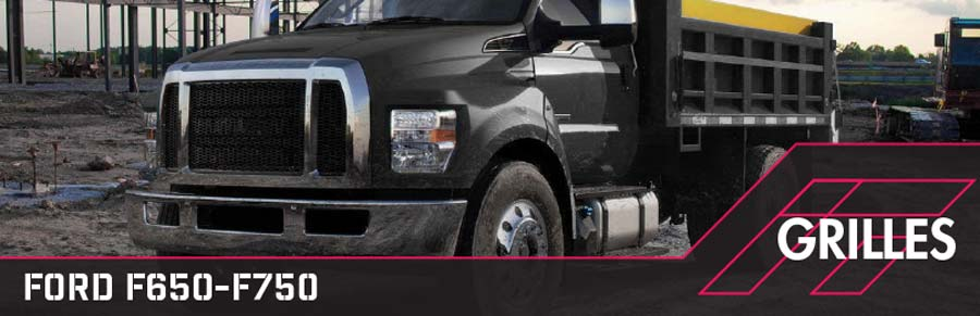 ford f650-f750 grilles