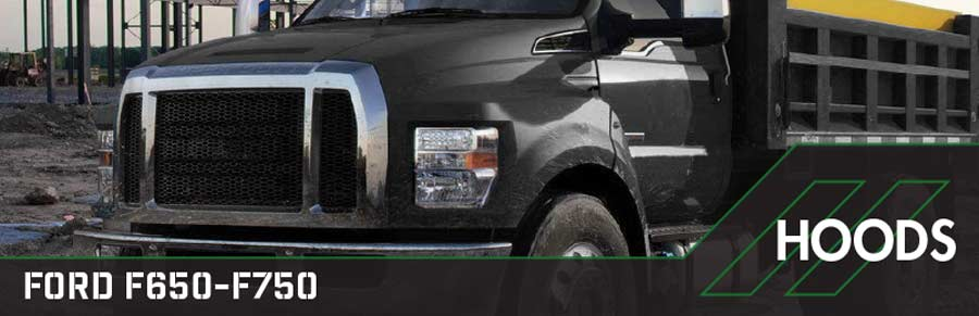 hoods for ford f650-f750