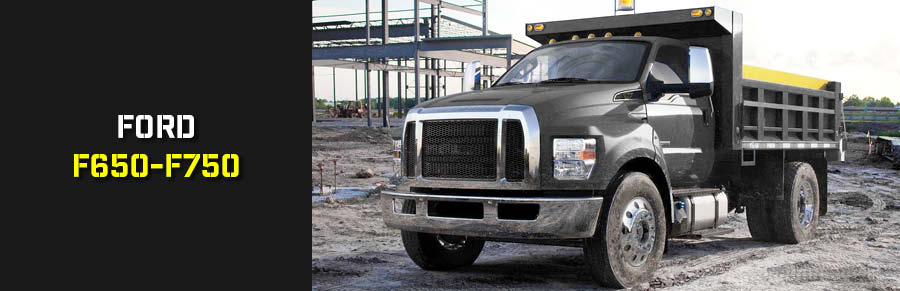 Semi Truck Parts for Ford F650-F750
