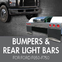 Bumpers for Ford F650-F750