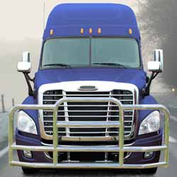 Deluxe Grille Guard With Mounting Kit Fits Freightliner Cascadia 113 & 125