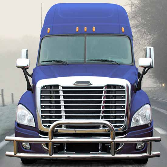 Standard Grille Guard With Mounting Kit Fits Freightliner Cascadia 113 &125