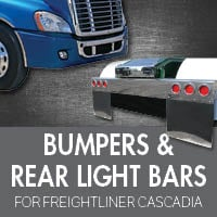Bumpers for Freightliner Cascadia