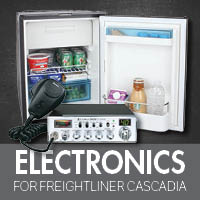 Electronics for Freightliner Cascadia