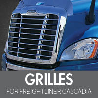 Freightliner Cascadia Grilles