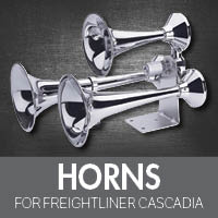 Horns for Freightliner Cascadia