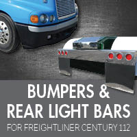 Bumpers for Freightliner Century 112