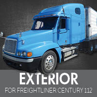Exterior Parts for Freightliner Century 112