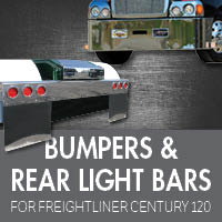 Bumpers for Freightliner Century 120