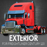 Exterior Parts for Freightliner Century 120