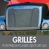 Grilles for Freightliner Century 120