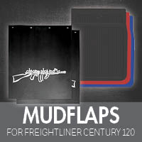 Mudflaps for Freightliner Century 120