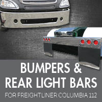 Bumpers for Freightliner Columbia 112