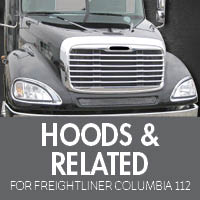 Hoods & Related for Freightliner Columbia 112