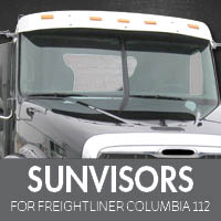 Sun Visors for Freightliner Columbia 112