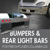 Bumpers for Freightliner Columbia 120