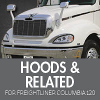 Freightliner Columbia 120 Hoods & Related