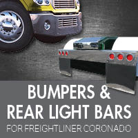 Bumpers for Freightliner Coronado