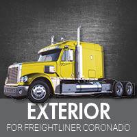 Exterior Parts for Freightliner Coronado