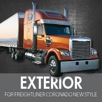 Exterior Parts for Freightliner Coronado New Style