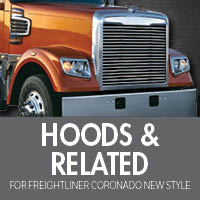 Hoods & Related for Freightliner Coronado New Style