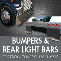 Bumpers for Freightliner FL120 Classic