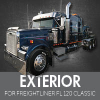 Exterior Parts for Freightliner FL120 Classic