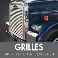 Grilles for Freightliner FL120 Classic