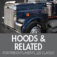 Hoods & Related for Freightliner FL120 Classic