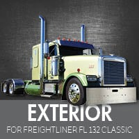 Exterior Parts for Freightliner FL132 Classic