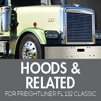Hoods & Related for Freightliner FL132 Classic