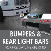 Bumpers for Freightliner FL70-80